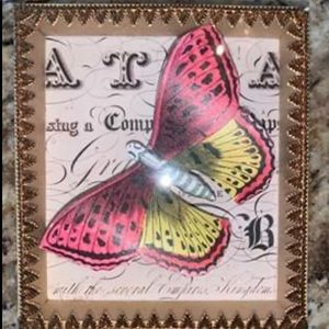 🌺Hanging or Standing Butterfly Art